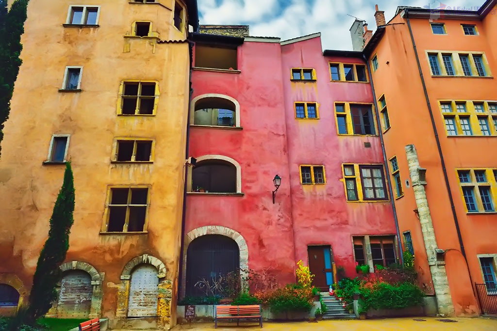 Houses in Vieux Lyon