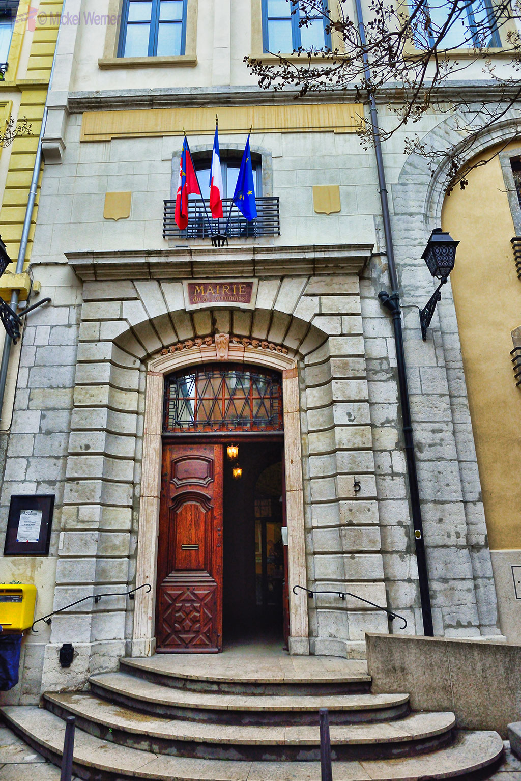 Part of the Mairie of the 5th arrondissement of Lyon