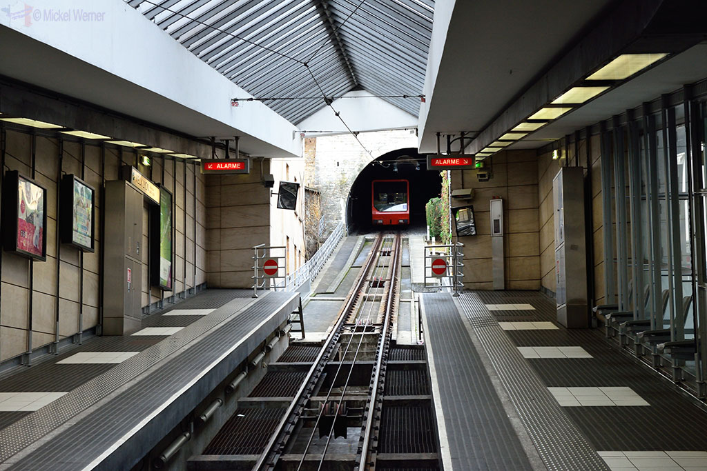 The funicular of old Lyon