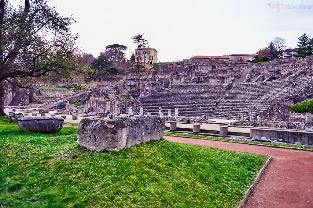 Roman theatre of Lyon
