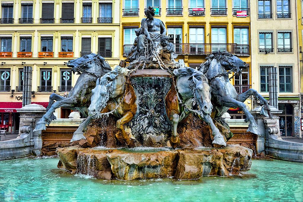 The Bartholdi fountain