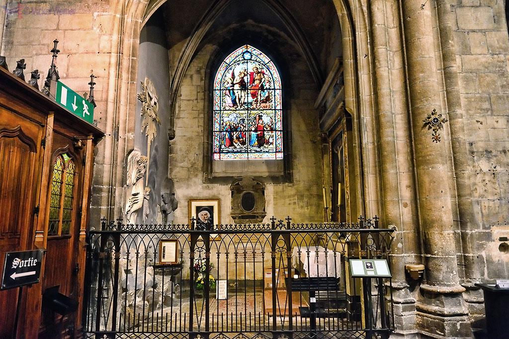 Font Baptismaux chapel of the Saint Nizier church in Lyon