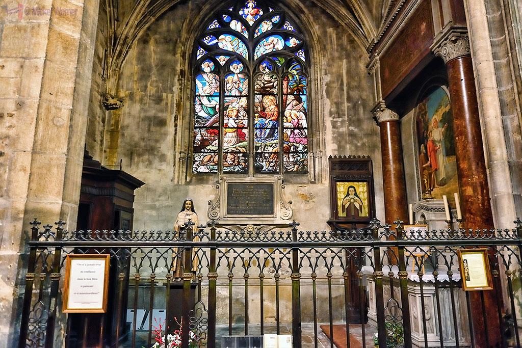 Saints Anges chapel of the Saint Nizier church in Lyon