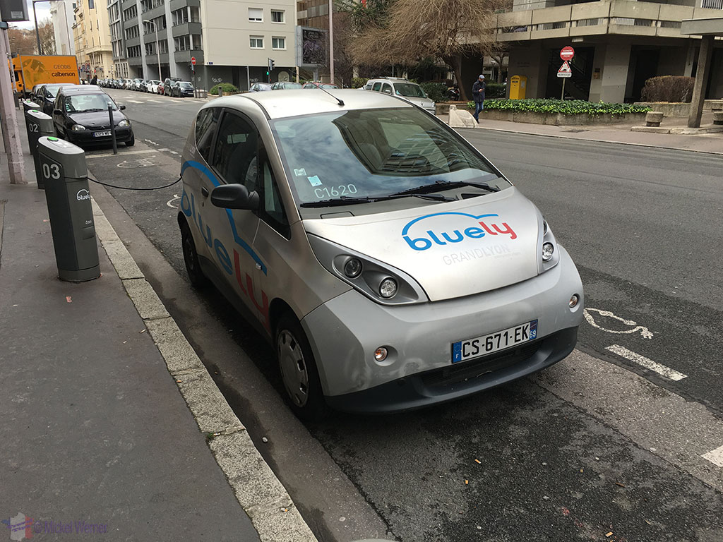 Lyon Transportation - Electric car rental