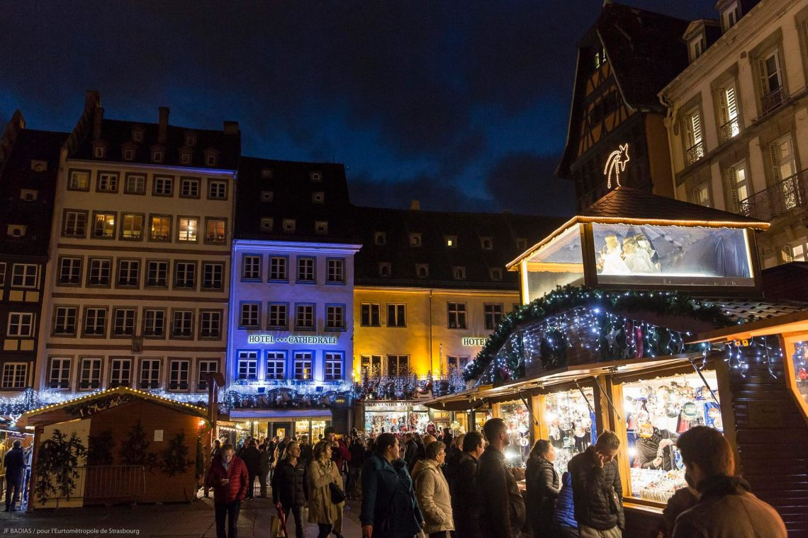 Strasbourg Christmas Market (c) Strasbourg