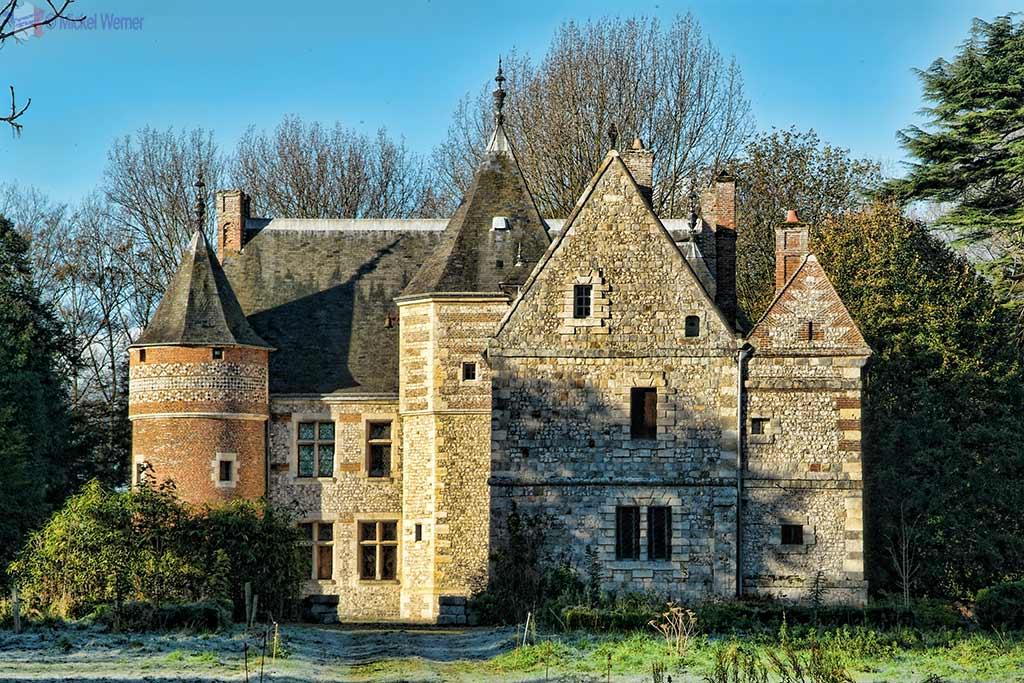 Auberville-la-Manuel Castle