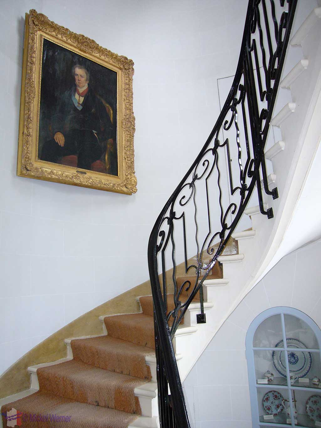 Inside the Chateau (Castle) of Cany-Barville