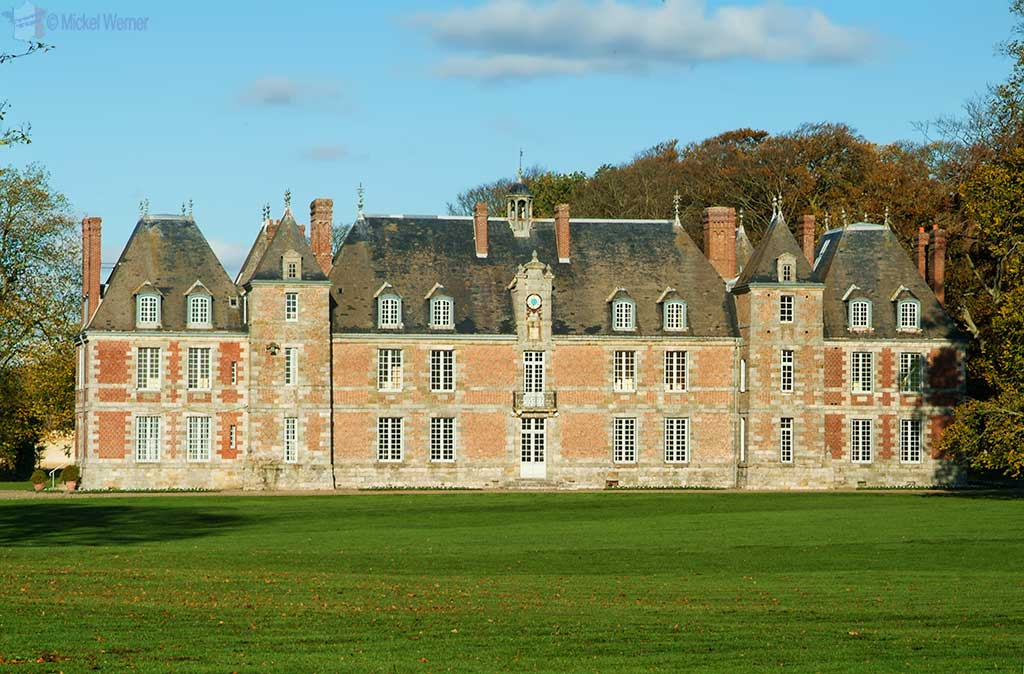 Janville castle at Paluel, Normandy