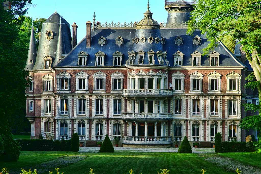 Chateau de Frefosse at Tilleul