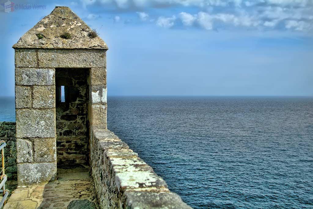 Tower/Turret of Fort-la-Latte fortress in Plevenon, Brittany