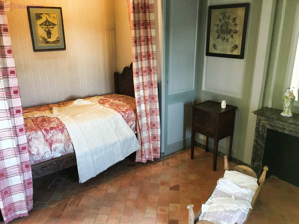 "Nanny's room inside the ""Maison de l'Armateur"" in Le Havre"
