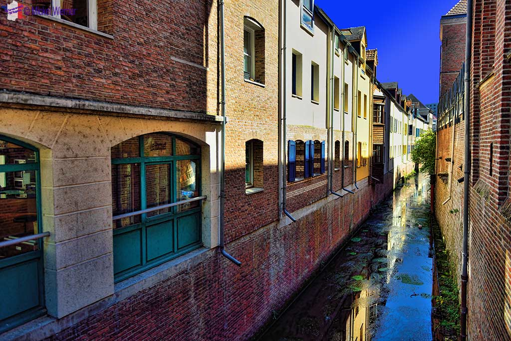 One of three rivers in Amiens