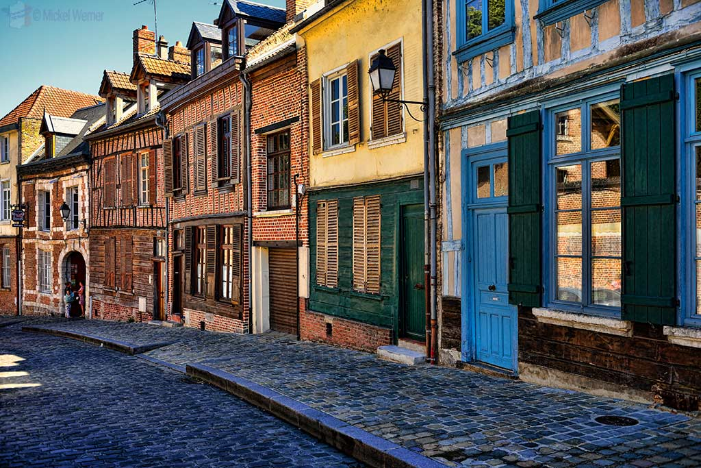 Houses in the Saint-Leu district of Amiens