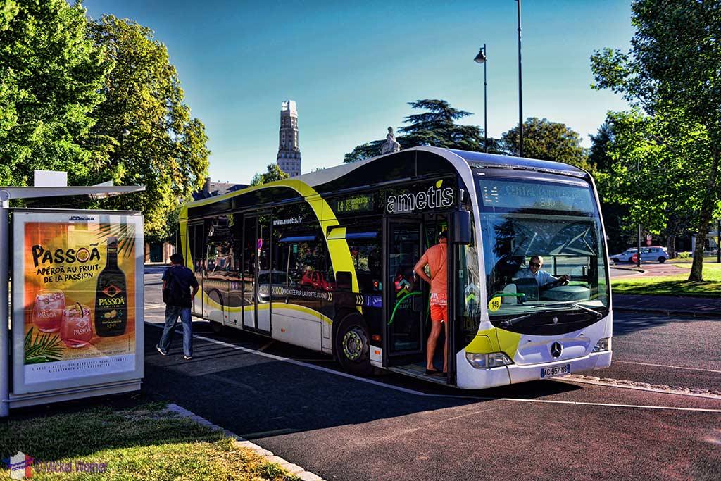 Amiens Bus service (AMETIS)