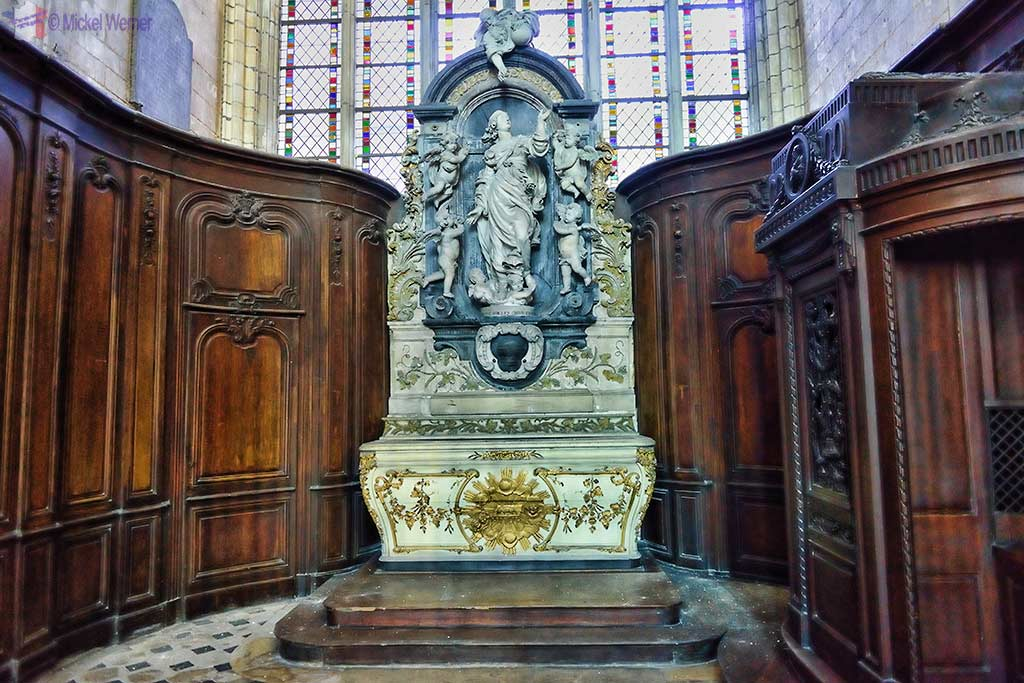 Chapel of Saint-Nicolas of the Amiens cathedral