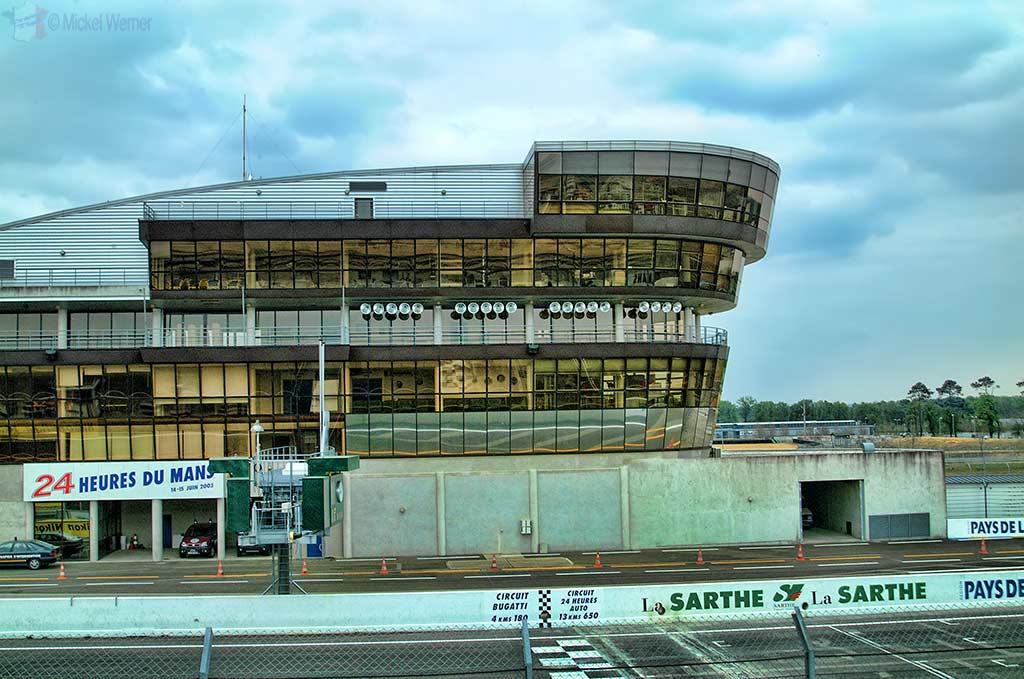 The Bugatti race circuit of Le Mans