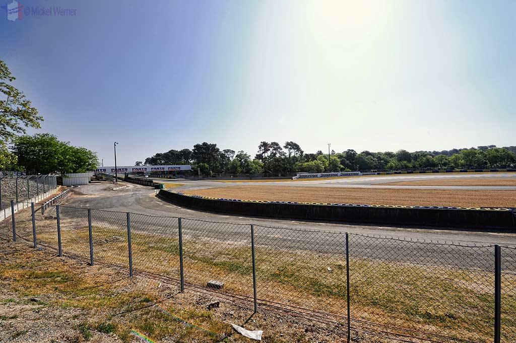 The Bugatti circuit in Le Mans