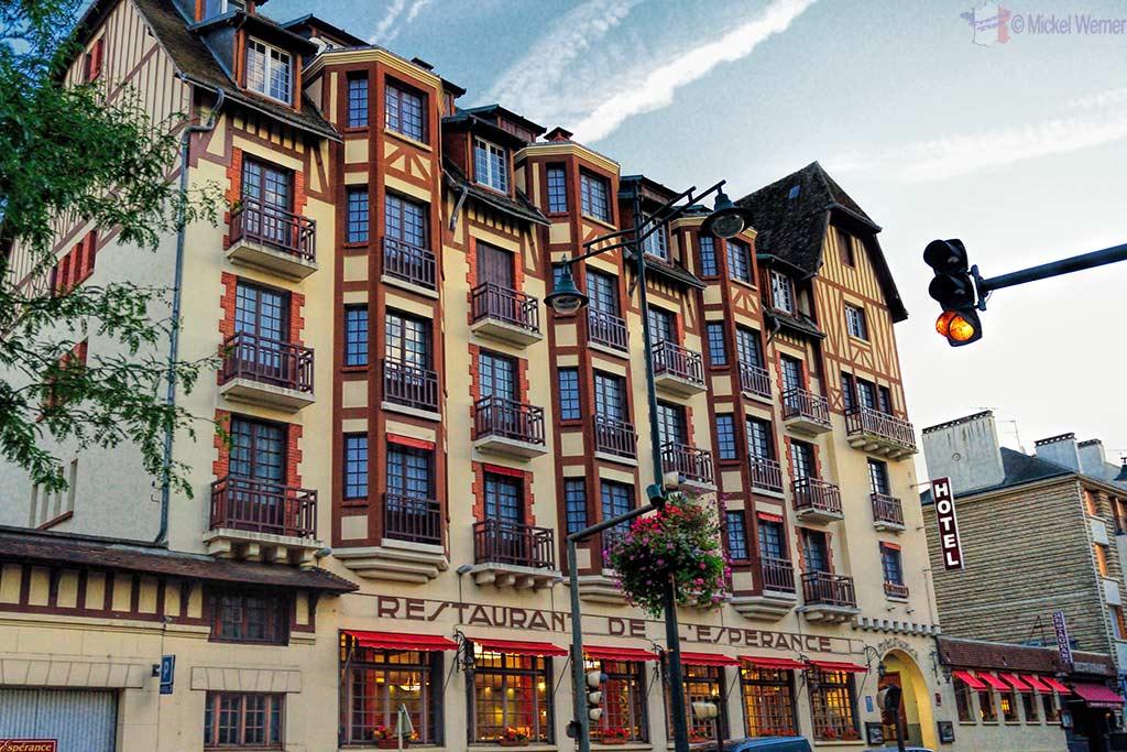 Building/restaurant/hotel inside Lisieux, Normandy