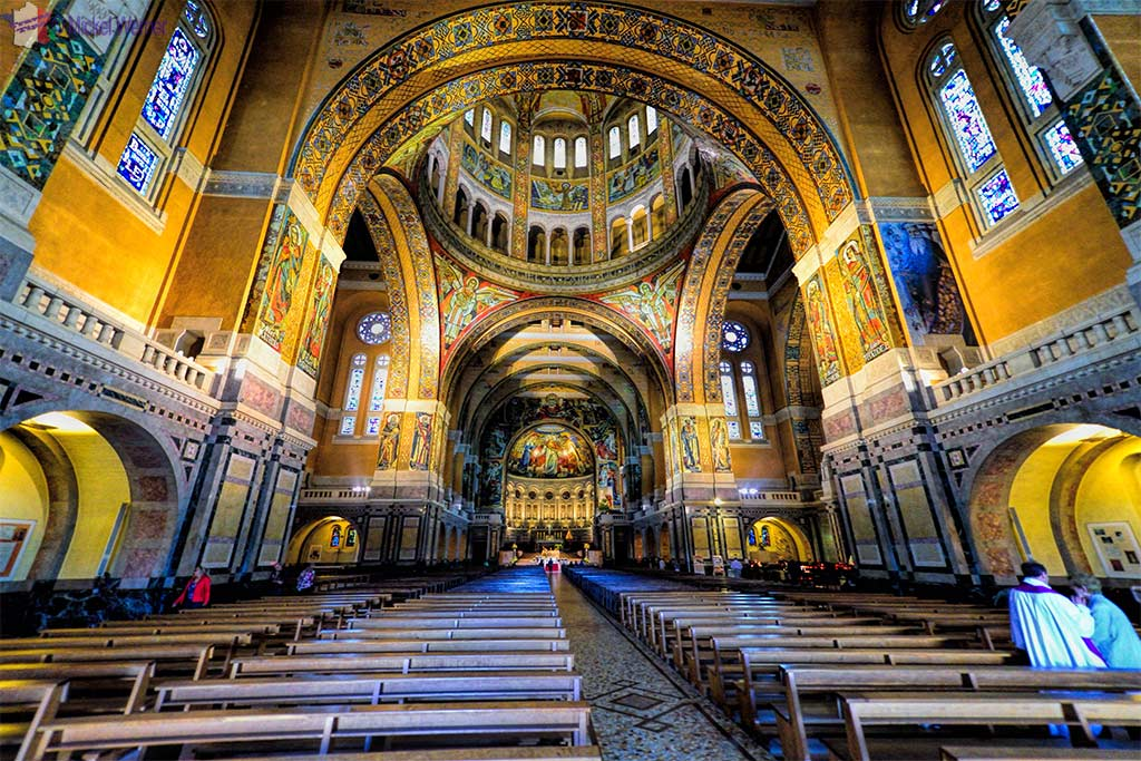 Lisieux Basilica Of St Therese Travel Information And