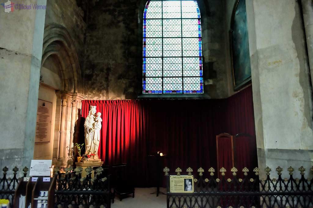 Notre-Dame du Carmel chapel inside the Saint-Pierre cathedral of Lisieux