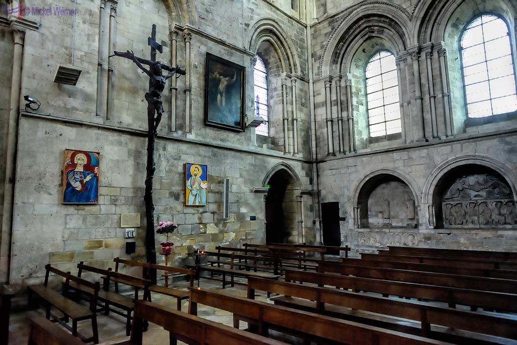 North transept of the Saint-Pierre cathedral of Lisieux