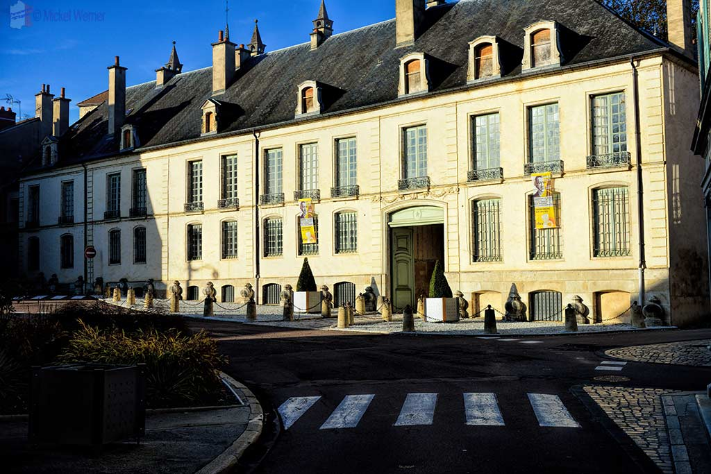 Hotel de Buffon (museum) in Montbard, Burgundy