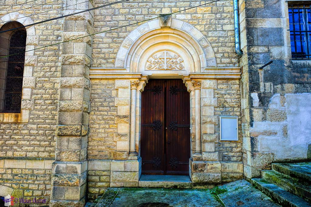 Entrance to the Chapelle (chapel) des Ursulines in Montbard