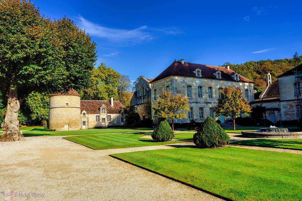 Fontenay Abbey in Montbard, Burgundy