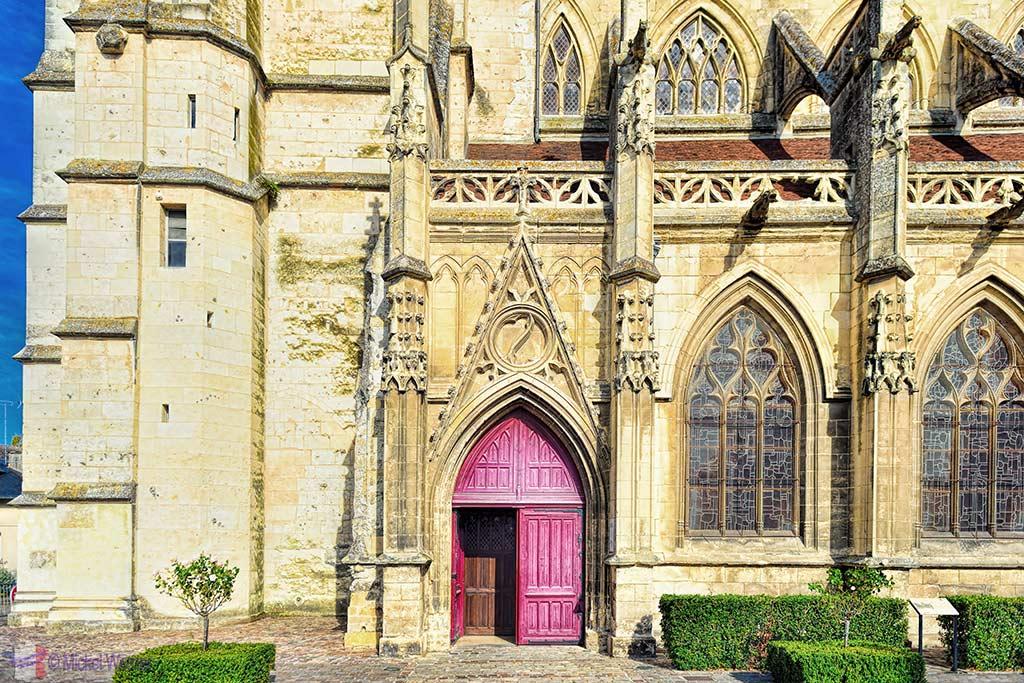Saint-Michel church in Pont l'Eveque, Normandy