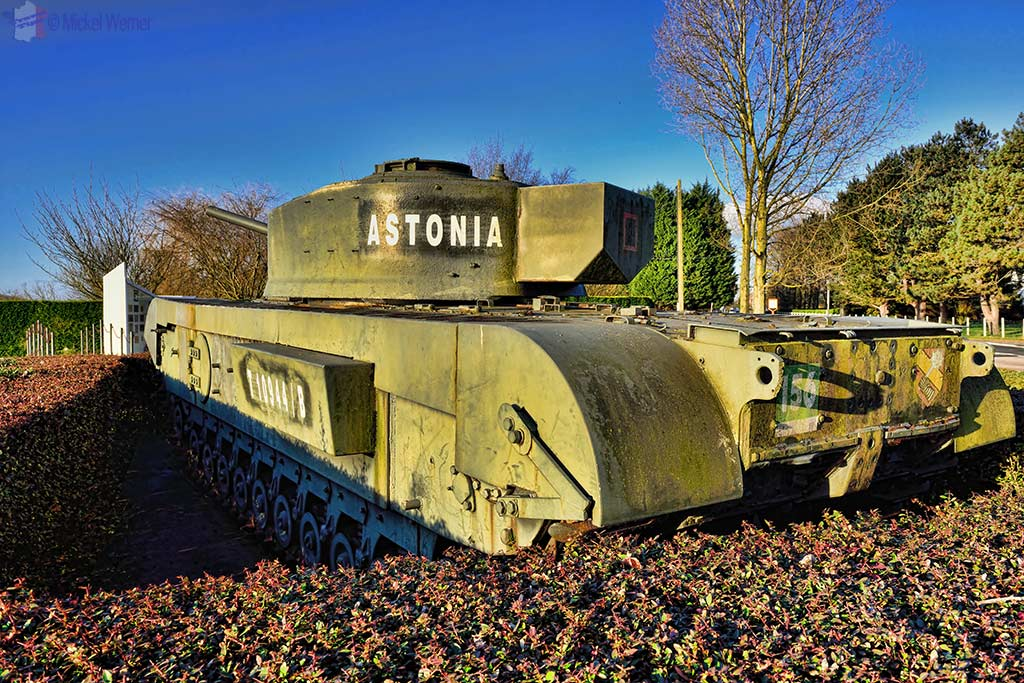 WWII tank used during the Astonia offensive to be found in Fontaine-la-Mallet, Normandy