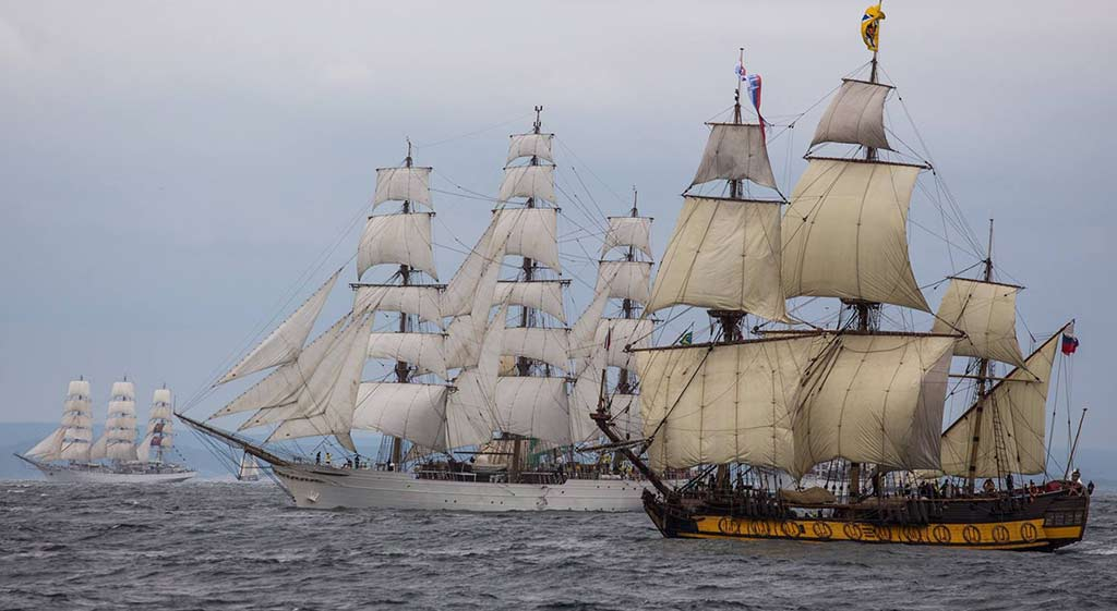 Le Havre – End Destination Of The Tall Ships Race 2017