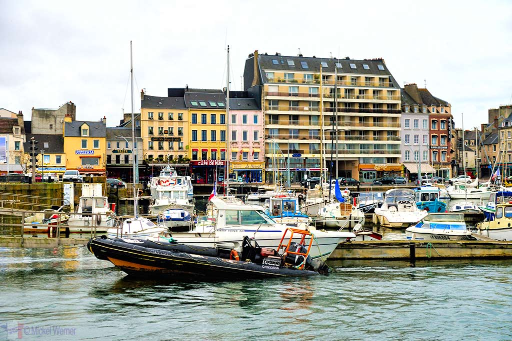 Part of the harbours of Cherbourg