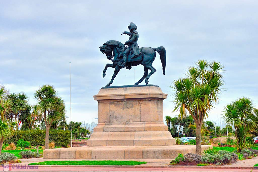 Statue of Napoleon in Cherbourg