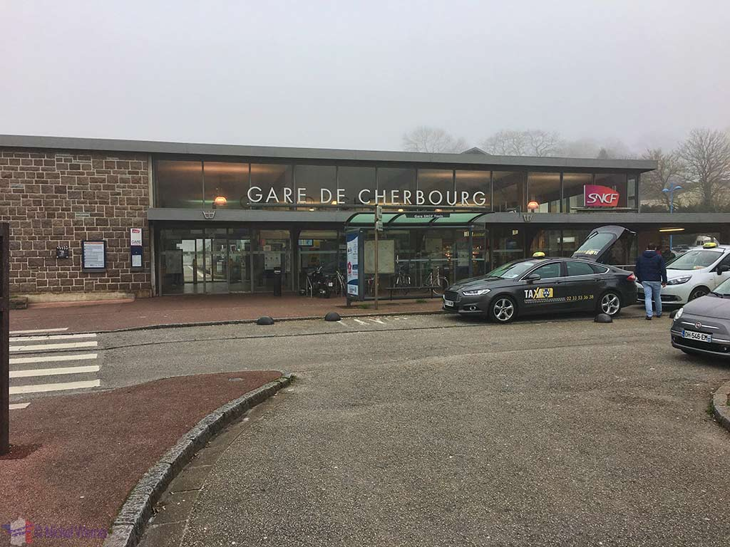 Railway station of Cherbourg
