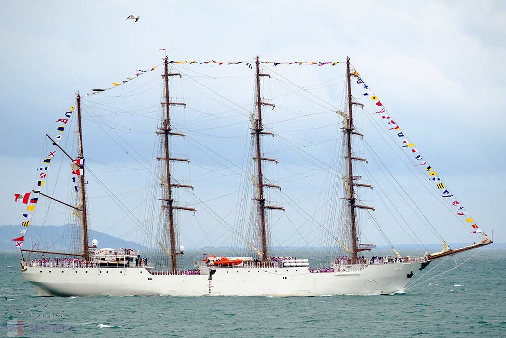 Le Havre: Tall Ship Parade for 500 Years Celebration – 3 September