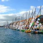 Le Havre - Start of the Transat Jacques Vabre Event - Trans-Atlantic Sailboat Race