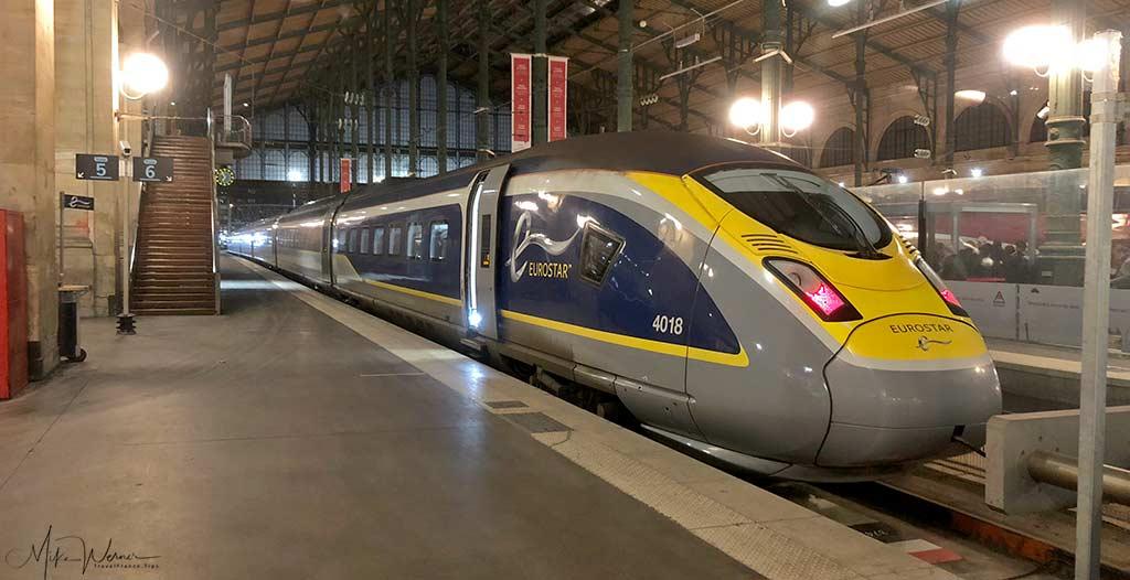 Eurostar High Speed Train, TGV, serving the UK