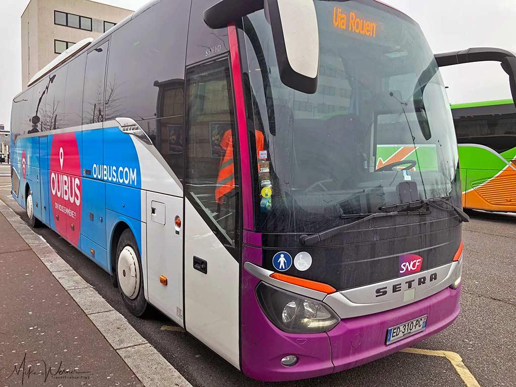 Ouibus bus