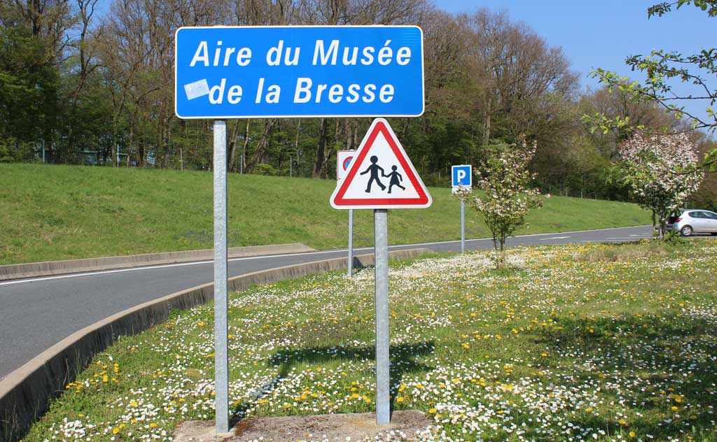 Autoroute rest area