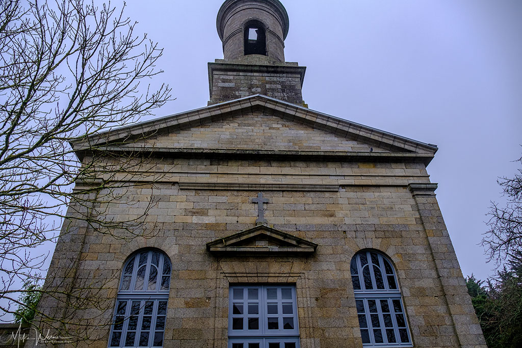 Saint-Guenole church in the walled city/town of Concarneau