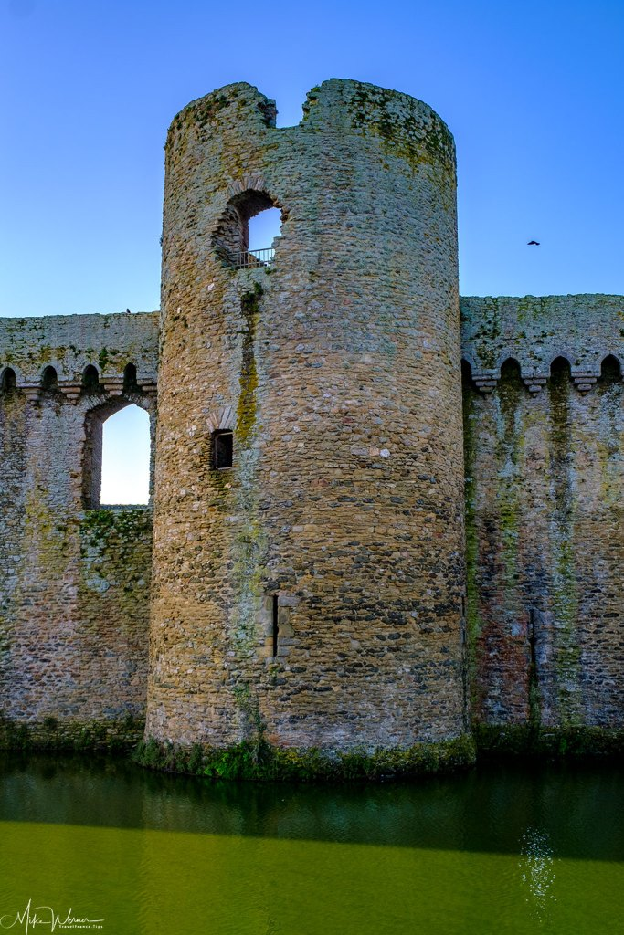 Still needing some repairs for the Chateau/Fortress Suscinio in Brittany