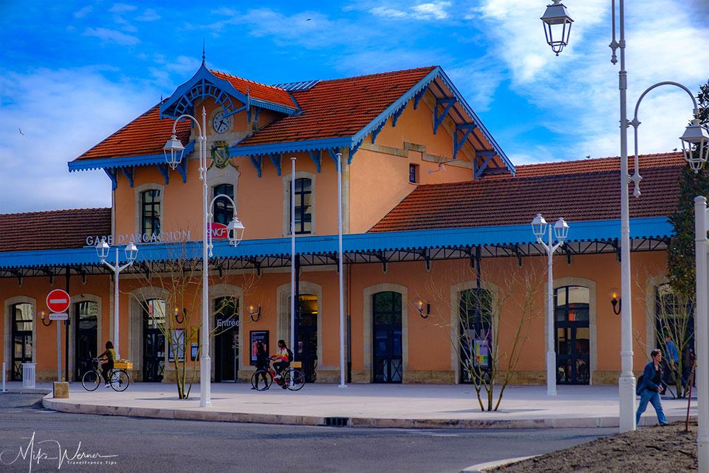 Railway station of Arcachon