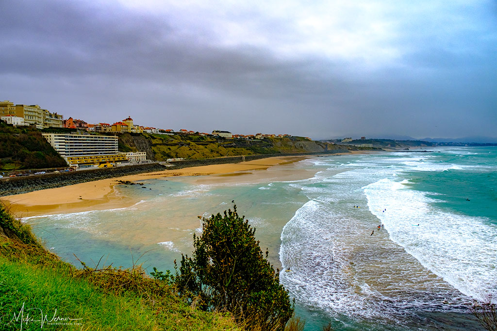 South beach, Cote des Basques, of Biarritz