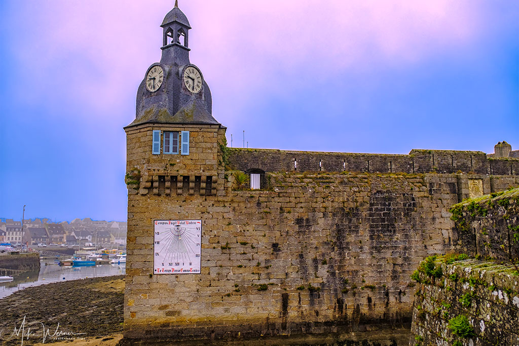 Concarneau's walled city tower