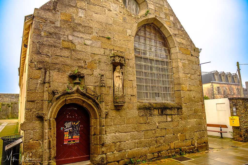 Hospital Chapel in the walled city of Concarneau'
