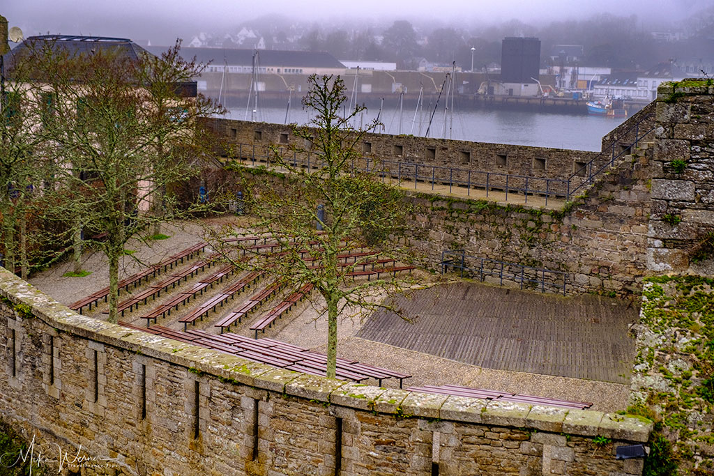 Open air theatre in Concarneau