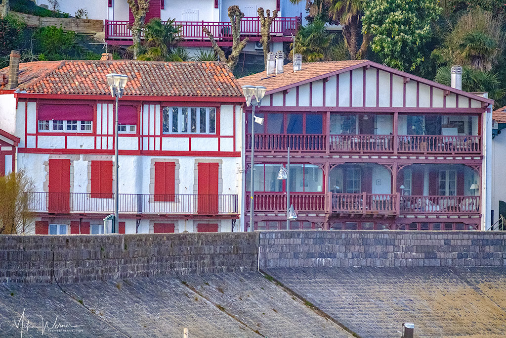 One of many old style houses in St-Jean-de-Luz