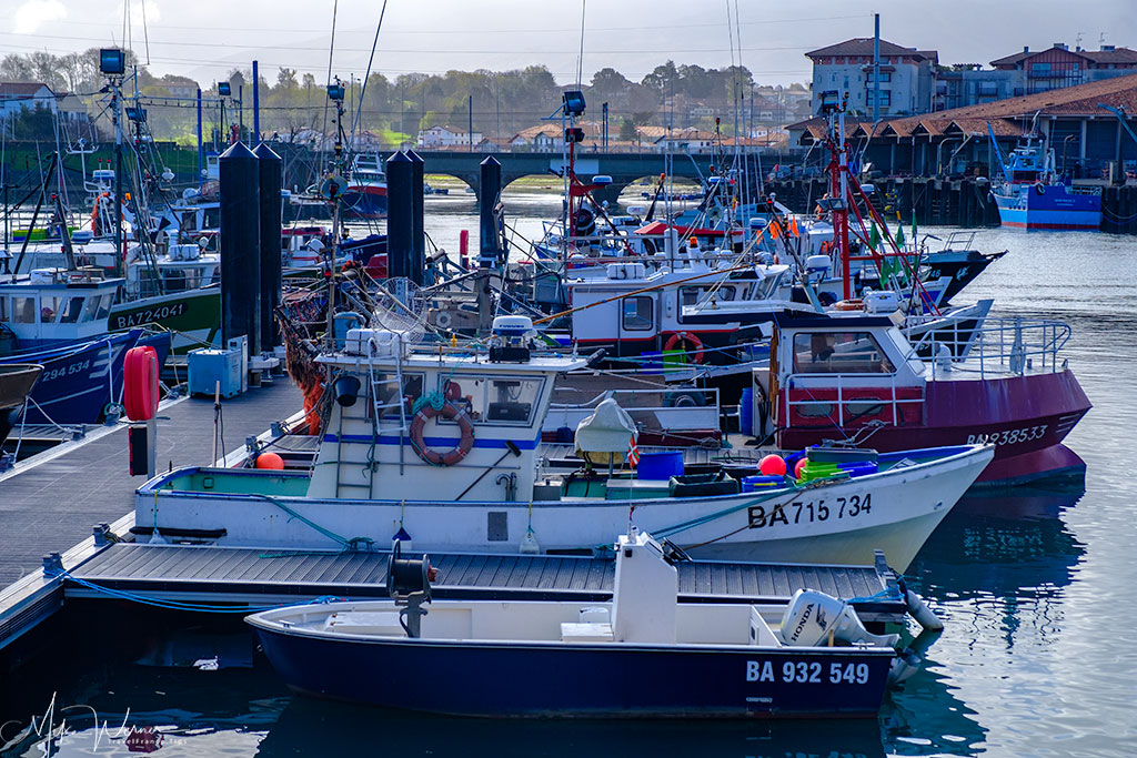 Saint-Jean-de-Luz harbour