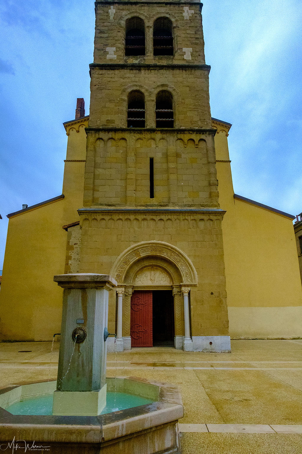 The Saint-Jean-Baptiste de Valence church