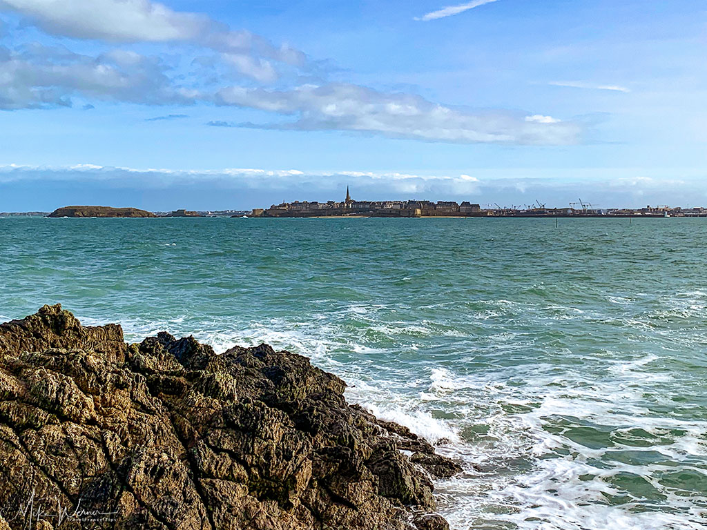 Saint Malo as seen from Dinard